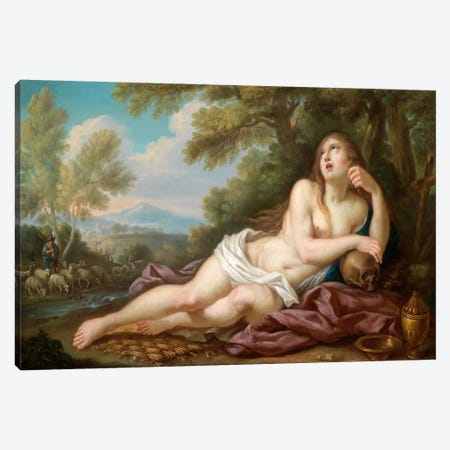 Casali, Magdalene Canvas Print #VAC268} by Vintage Apple Collection Canvas Art Print