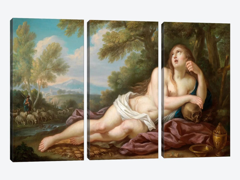 Casali, Magdalene by Vintage Apple Collection 3-piece Canvas Print