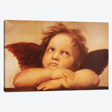Classic Cherub One Canvas Print #VAC271} by Vintage Apple Collection Canvas Wall Art