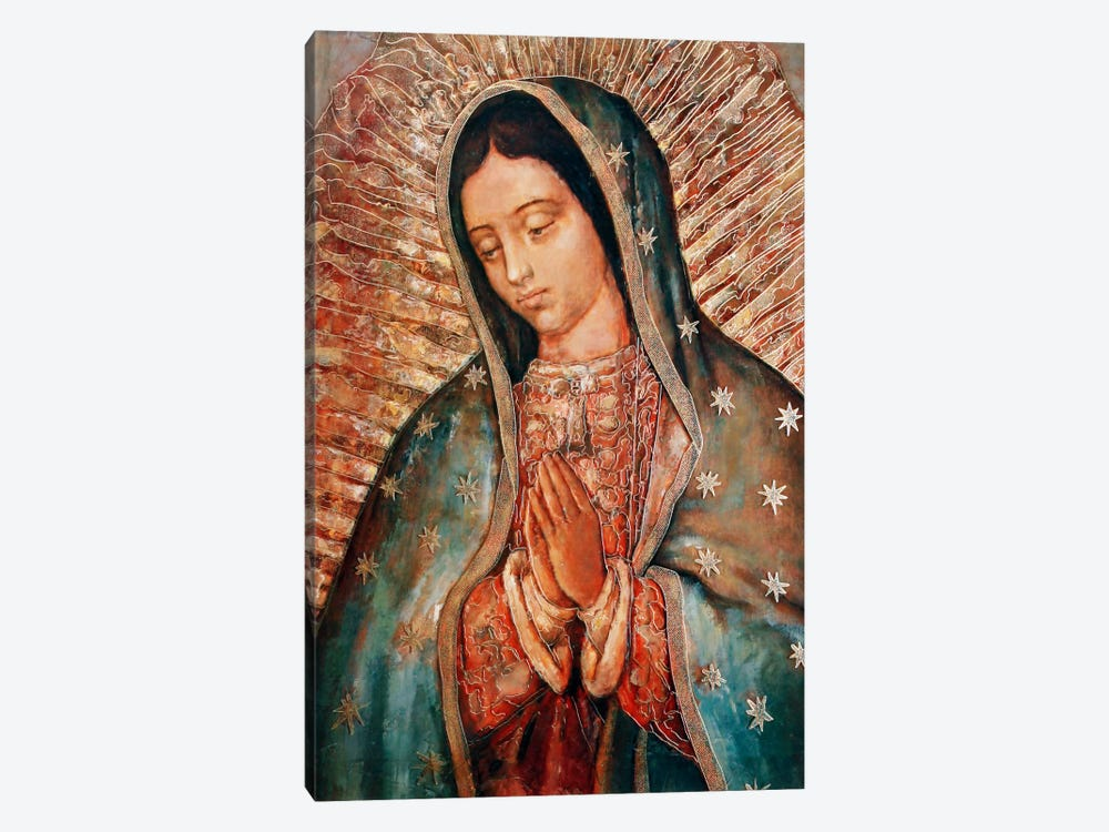 Our Lady by Vintage Apple Collection 1-piece Canvas Print