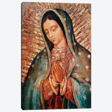 Our Lady Canvas Print #VAC279} by Vintage Apple Collection Canvas Wall Art