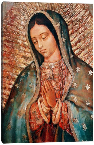 Our Lady Canvas Art Print