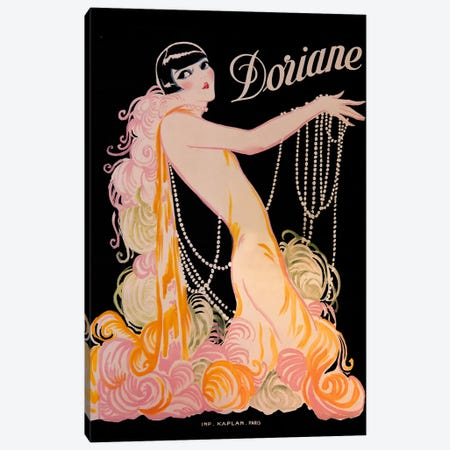 Doriane Canvas Print #VAC432} by Vintage Apple Collection Canvas Wall Art