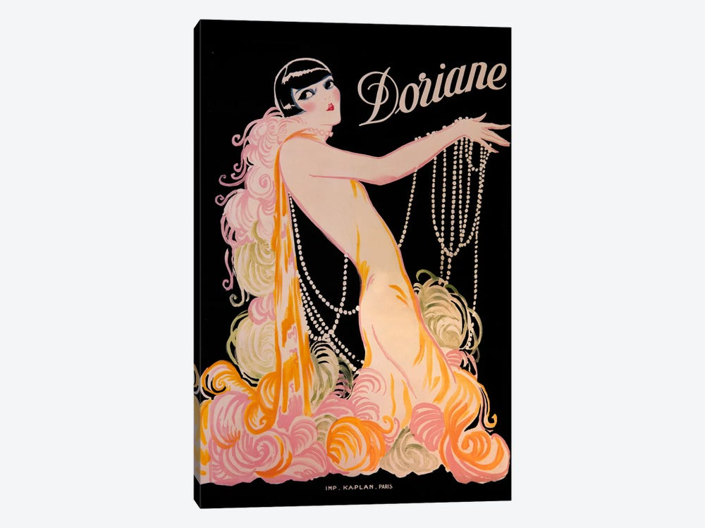 Doriane by Vintage Apple Collection 1-piece Canvas Artwork