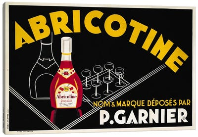 Abricotine Canvas Print #VAC47