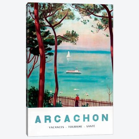 Arachon France Canvas Print #VAC55} by Vintage Apple Collection Art Print