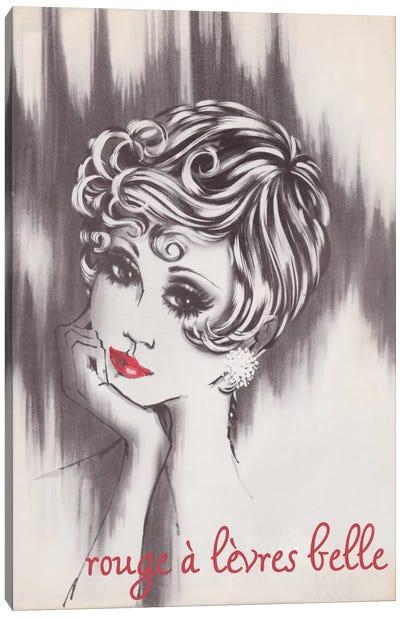 Beautiful Lipstick Canvas Print #VAC589