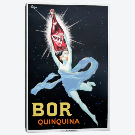 Bor Quinquina Canvas Print #VAC600} by Vintage Apple Collection Art Print