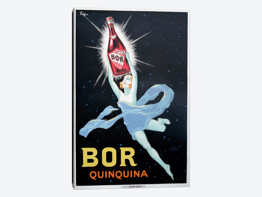 Bor Quinquina by Vintage Apple Collection 1-piece Canvas Wall Art
