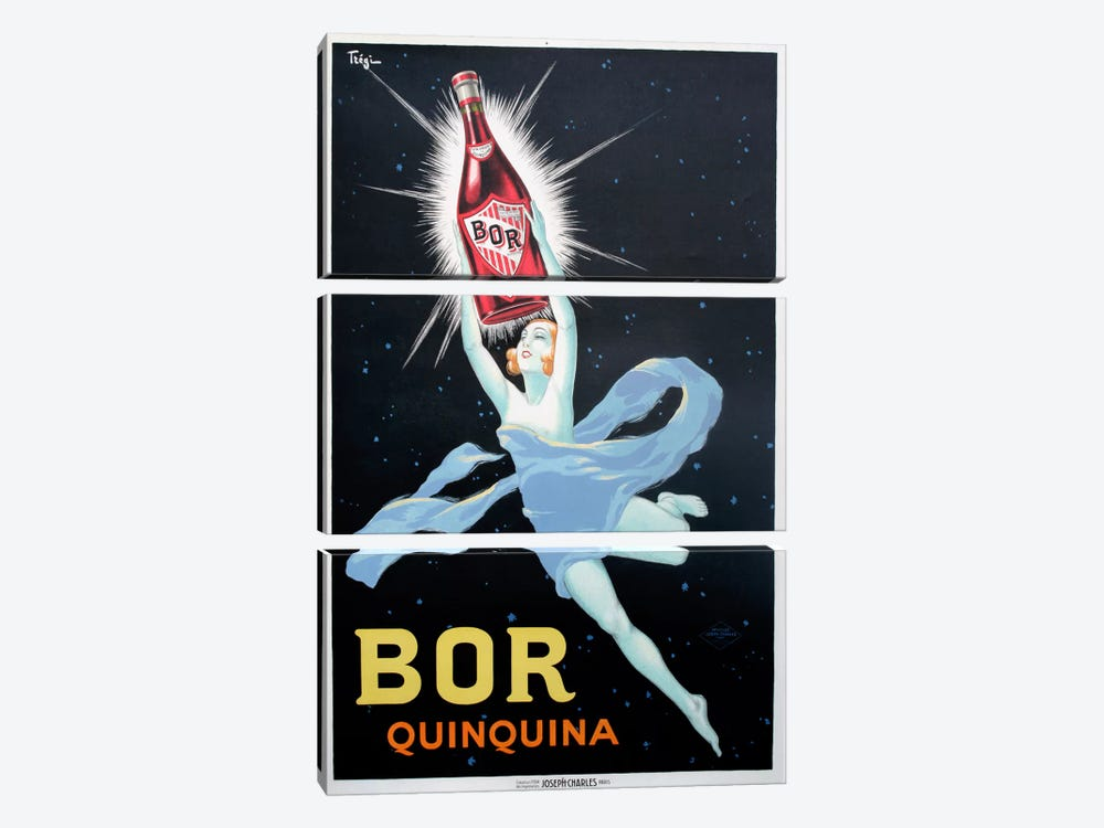 Bor Quinquina 3-piece Canvas Wall Art