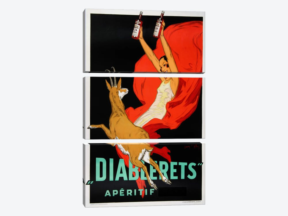 Diablerets by Vintage Apple Collection 3-piece Art Print