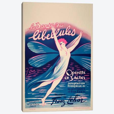 Fairy Dance Libellules Canvas Print #VAC620} by Vintage Apple Collection Canvas Print