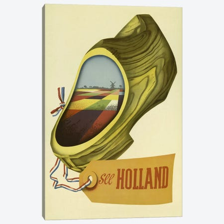 Holland Canvas Print #VAC627} by Vintage Apple Collection Canvas Artwork