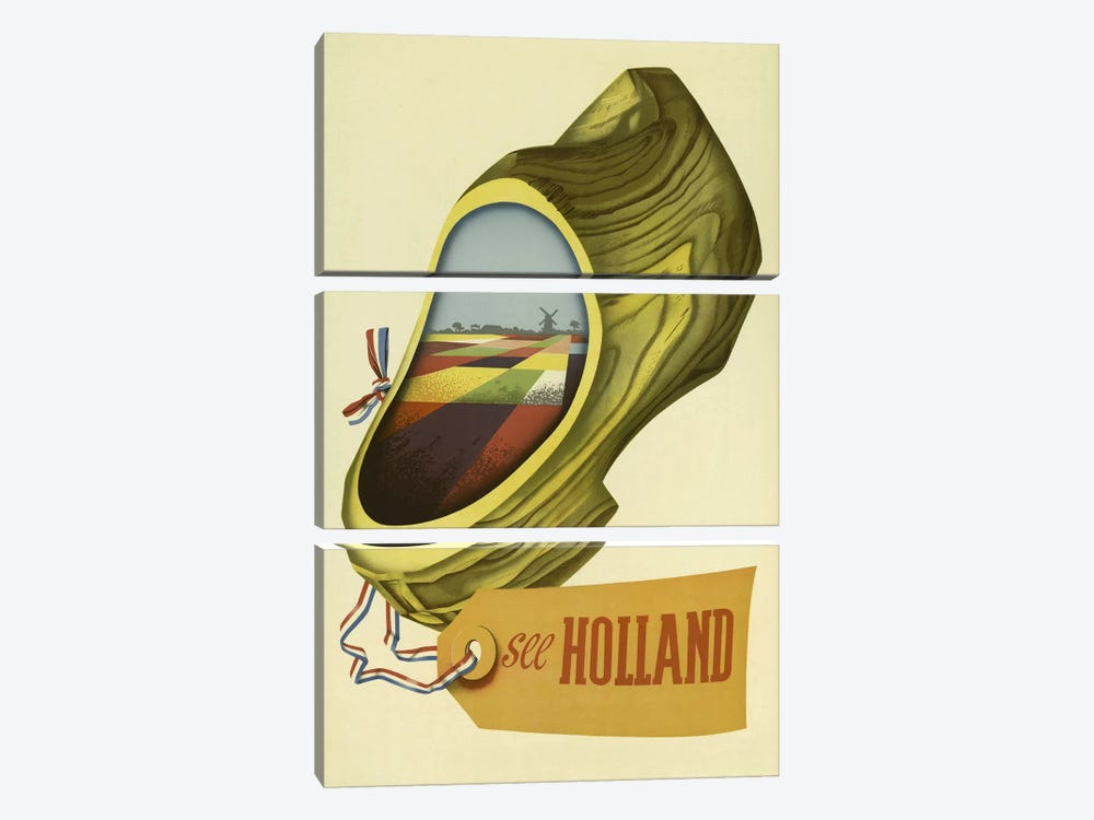 Holland by Vintage Apple Collection 3-piece Art Print