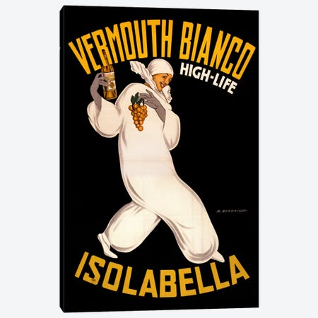 Isolabella Vermouth Bianco Canvas Print #VAC635} by Vintage Apple Collection Canvas Art Print