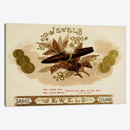 Jewels Canvas Print #VAC636} by Vintage Apple Collection Canvas Art Print