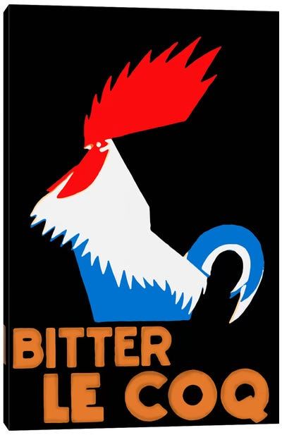 Bitter Coq Canvas Art Print