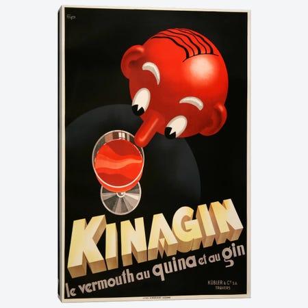 Kinagin Canvas Print #VAC640} by Vintage Apple Collection Canvas Art Print