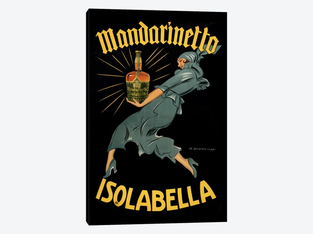 Mandarinetto by Vintage Apple Collection 1-piece Canvas Art Print
