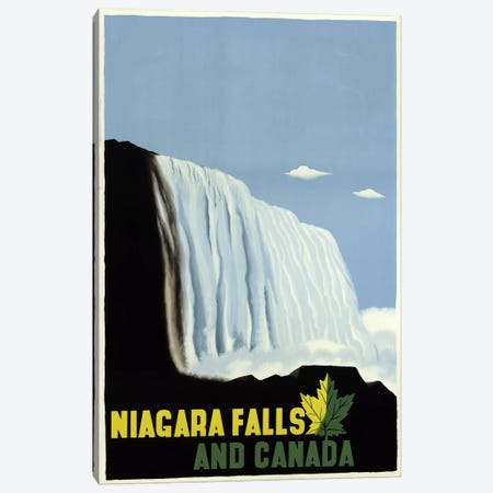 Niagarafallsandcanada Canvas Print #VAC665} by Vintage Apple Collection Canvas Artwork