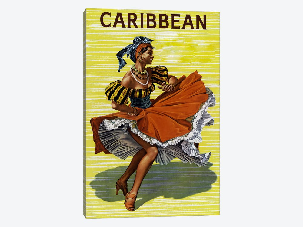 Carribean #2 by Vintage Apple Collection 1-piece Art Print