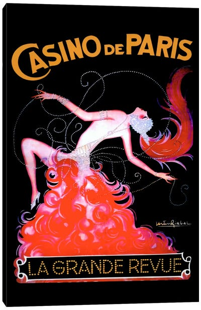 Casino de Paris Canvas Art Print