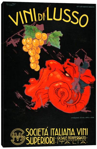 Vini Di Lusso Canvas Art Print