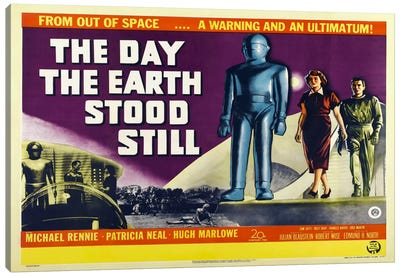 Day Earth Stood Still Canvas Art Print