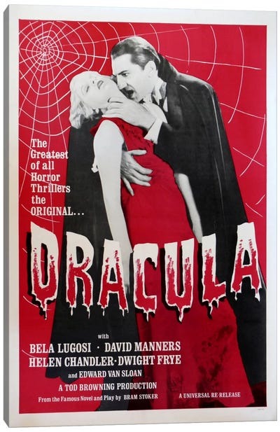 Dracula Canvas Art Print