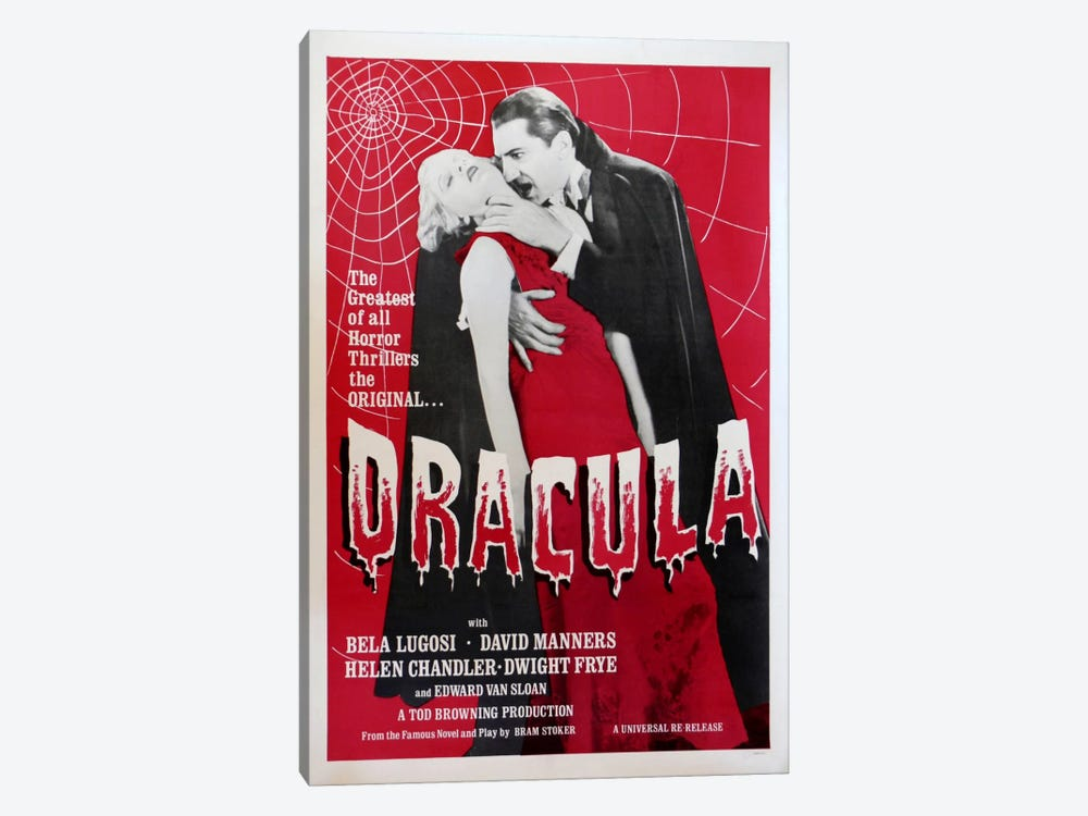 Dracula by Vintage Apple Collection 1-piece Canvas Wall Art