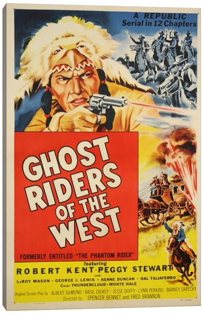 Ghost Riders of the West Canvas Print #VAC714