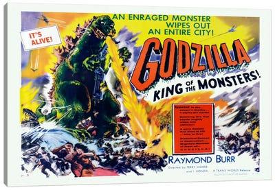 Godzilla Canvas Print #VAC716