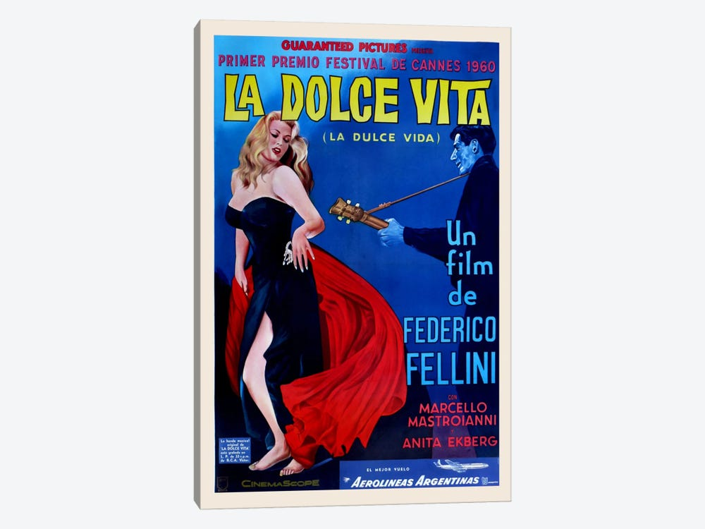 La Dolce Vita by Vintage Apple Collection 1-piece Art Print