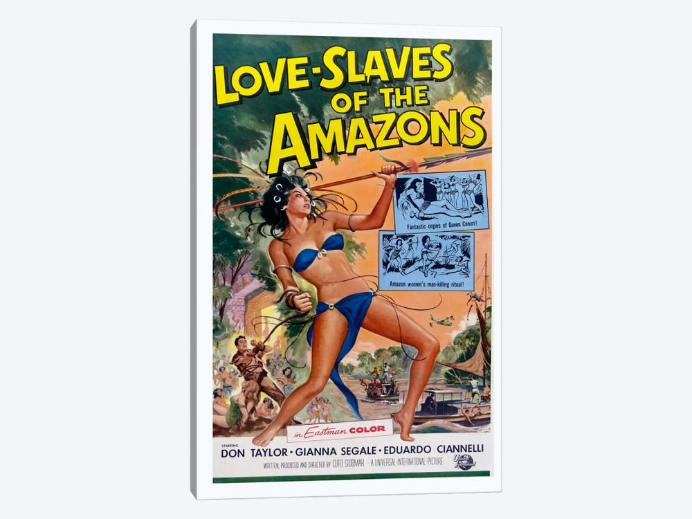 Love Slaves of the Amazons by Vintage Apple Collection 1-piece Canvas Art