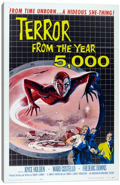 Terror from the Year 5000 Canvas Art Print