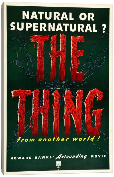 The Thing Canvas Art Print