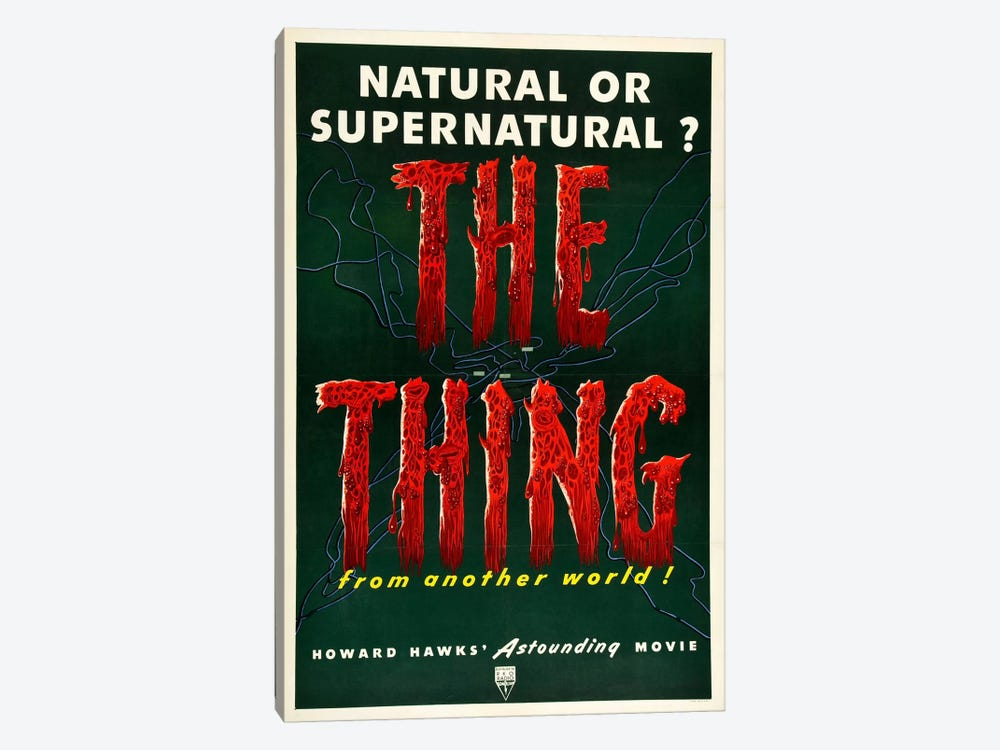The Thing by Vintage Apple Collection 1-piece Canvas Art