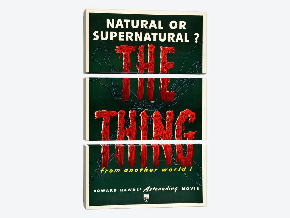 The Thing by Vintage Apple Collection 3-piece Canvas Art