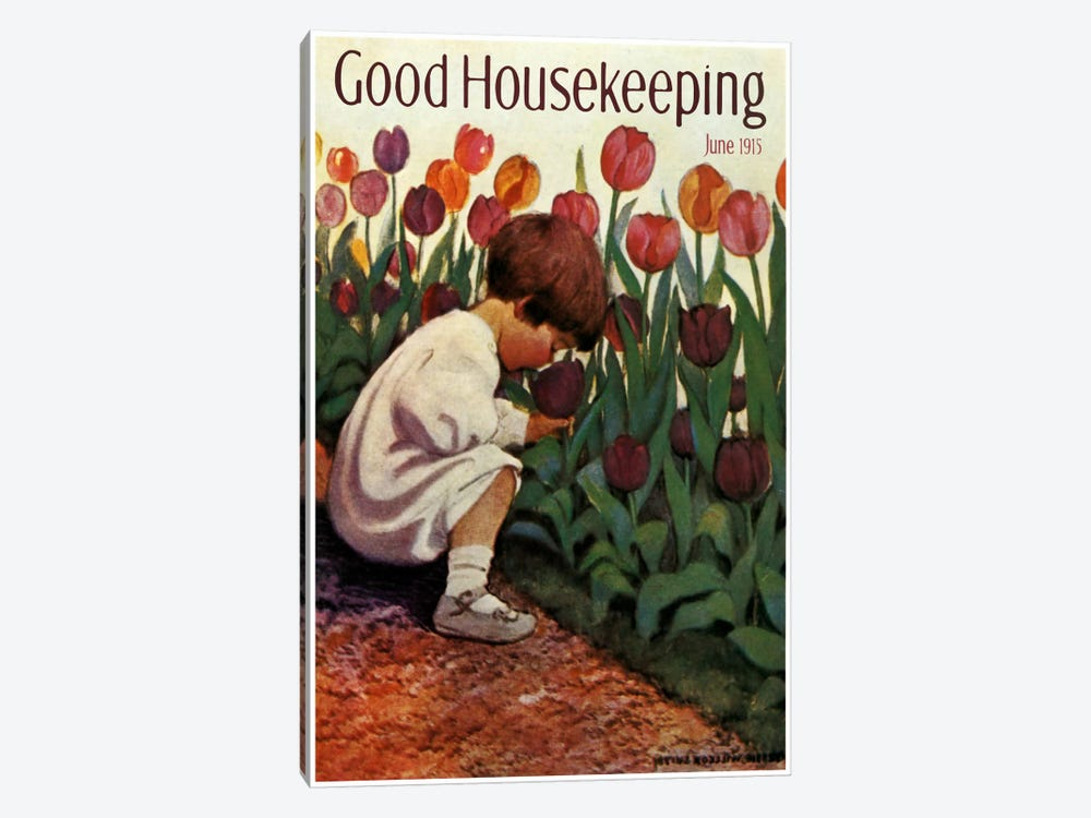 Good Housekeeping III by Vintage Apple Collection 1-piece Art Print