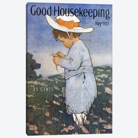 Good Housekeeping IV Canvas Print #VAC740} by Vintage Apple Collection Canvas Art