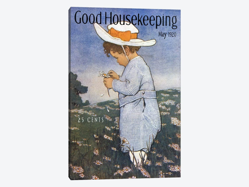 Good Housekeeping IV by Vintage Apple Collection 1-piece Canvas Art Print
