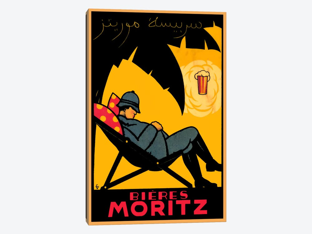 Bieres Moritz by Vintage Apple Collection 1-piece Canvas Wall Art