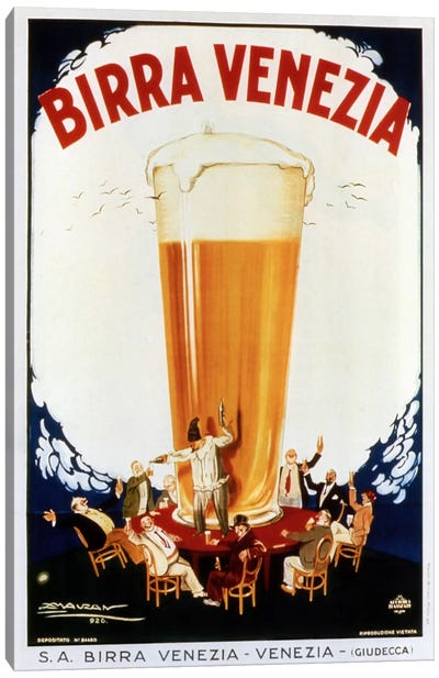 Birra Venezia Canvas Art Print