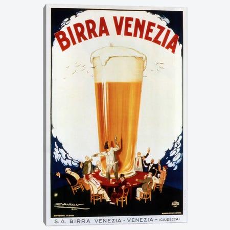 Birra Venezia Canvas Print #VAC749} by Vintage Apple Collection Canvas Wall Art