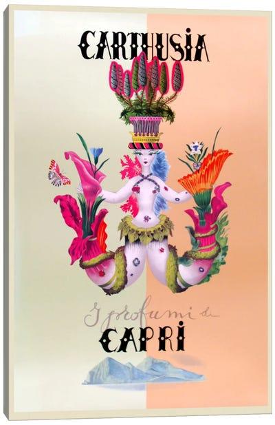 Italian Perfume Ad Canvas Print #VAC761