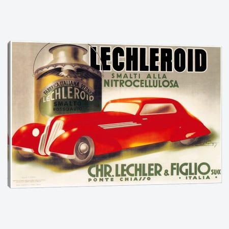 Lechleroid Canvas Print #VAC764} by Vintage Apple Collection Art Print