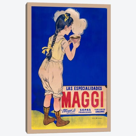 Maggis Sopas Canvas Print #VAC765} by Vintage Apple Collection Canvas Art Print