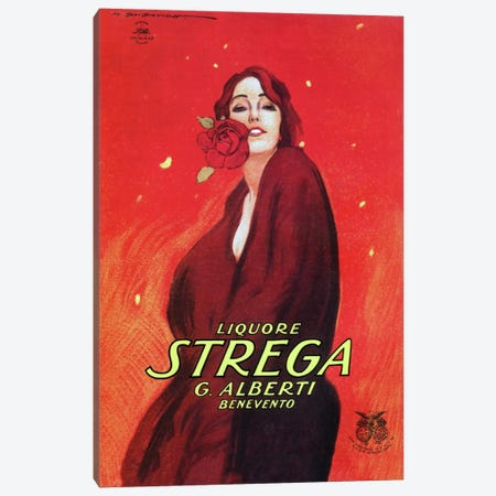 Strega Canvas Print #VAC771} by Vintage Apple Collection Canvas Print