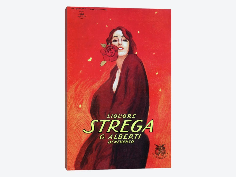 Strega by Vintage Apple Collection 1-piece Canvas Print