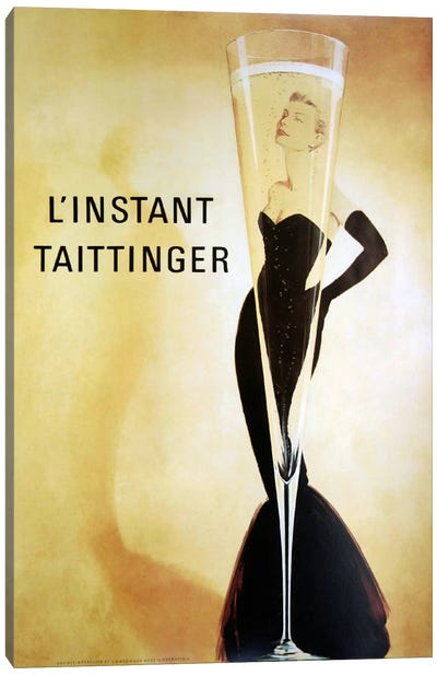 L'Instant Taittinger Canvas Art Print